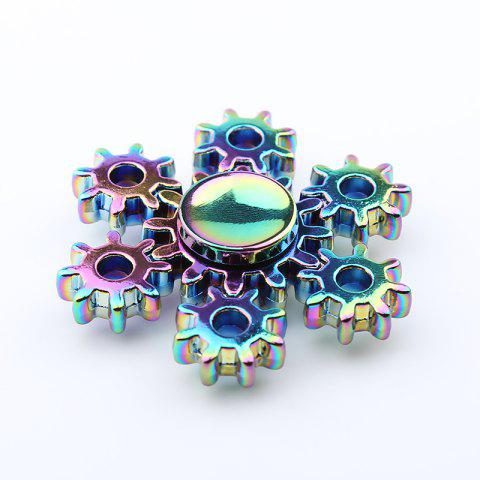 Fancy Colorful Rudder Shape Fidget Metal Spinner Anti-stress Toy - COLORMIX  Mobile