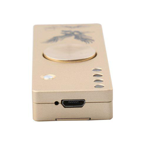 Affordable LED Light Alloy USB Cigar Lighter Hand Spinner Finger Gyro - GOLDEN  Mobile