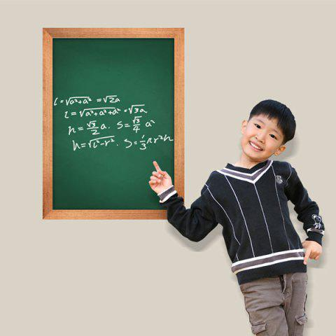 Cheap Removable Chalkboard Wall Sticker For Kids Room - 45*60CM GREEN Mobile