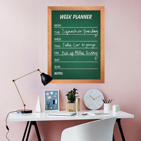 Best Removable Chalkboard Wall Sticker For Kids Room - 45*60CM GREEN Mobile