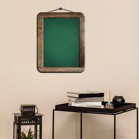 Outfit Removable Chalkboard Kids Room Wall Sticker - 45*60CM GREEN Mobile
