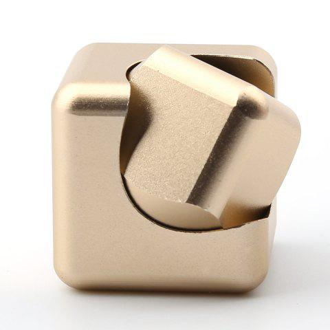 New Stress Relief Alloy Cube Hand Spinner - GOLDEN  Mobile