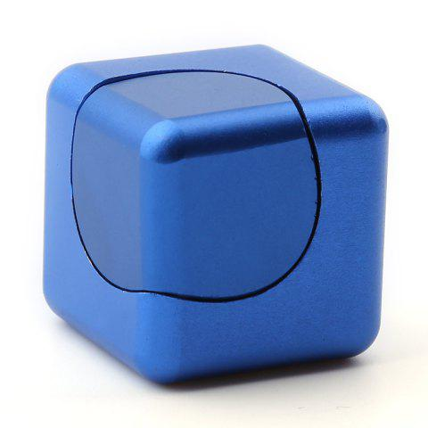 Buy Stress Relief Alloy Cube Hand Spinner - BLUE  Mobile