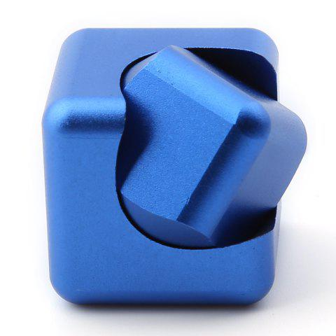 New Stress Relief Alloy Cube Hand Spinner - BLUE  Mobile
