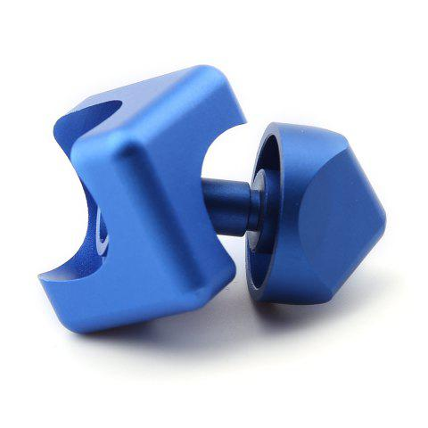 Unique Stress Relief Alloy Cube Hand Spinner - BLUE  Mobile
