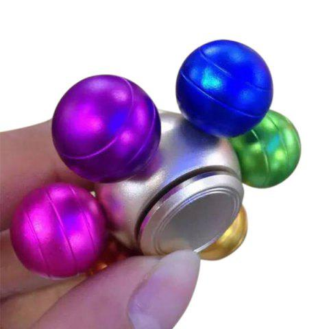 Affordable Anti Stress Colorful Ball Alloy Hand Spinner - COLORFUL  Mobile