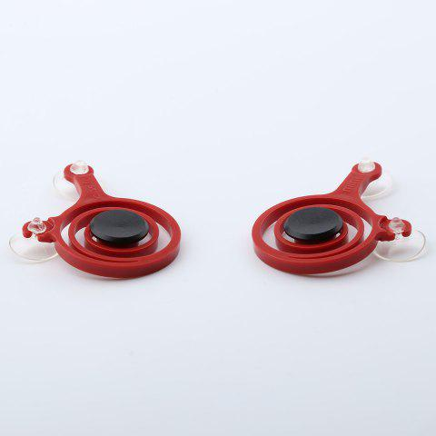 New Gamepad Design Plastic Hand Plaything Spinner - 6.5*5*0.7CM RED Mobile