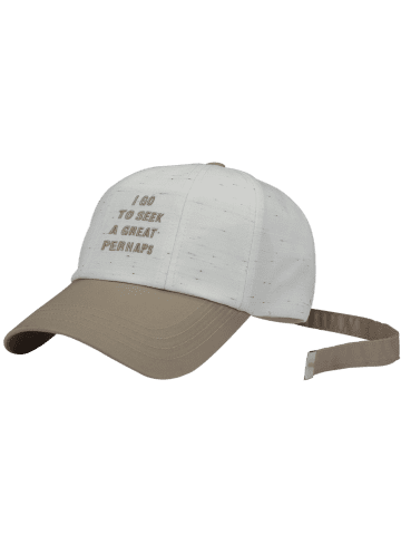 Shop Letters Embroidered Long Tail Baseball Hat - WHITE  Mobile