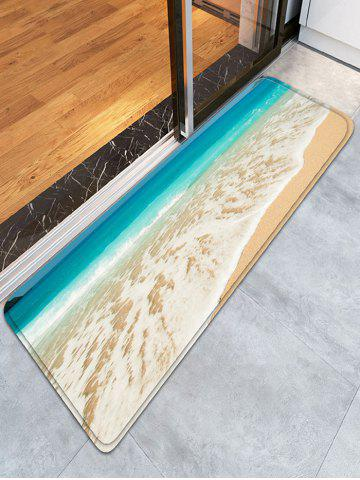 Flannel Water Absorption Beach Bathroom Rug