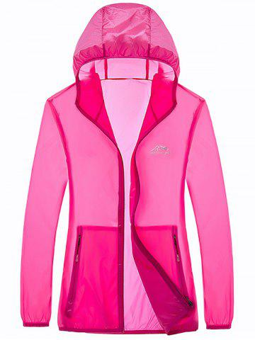 Shop Zipper Up Hooded UV-Protection Wear