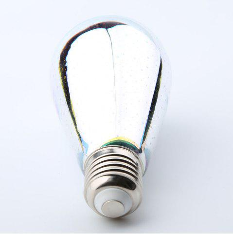 Store 3D Colorful Meteor Fireworks Glass LED Night Light Bulb - E27 COLORFUL Mobile