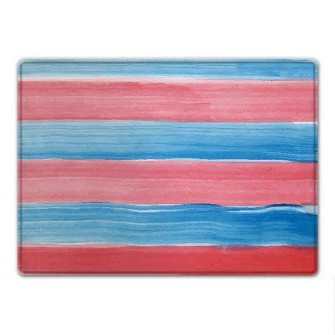 Outfits Striped Pattern Water Absorption Indoor Outdoor Area Rug - W16 INCH * L24 INCH COLORMIX Mobile