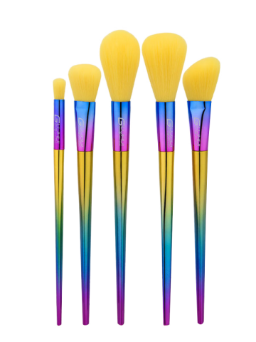 Affordable Ombre Handle Makeup Brushes Set - MULTI  Mobile