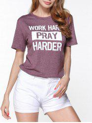 Work Hard Pray Harder T-Shirt