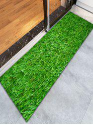 3D Grass Water Absorption Skidproof Bathroom Rug