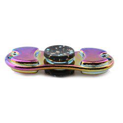 Coloré alliage Finger Gyro EDC Toy Fidget Spinner - Noir
