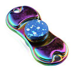 Colorful Alloy Finger Gyro EDC Toy Fidget Spinner - Blue