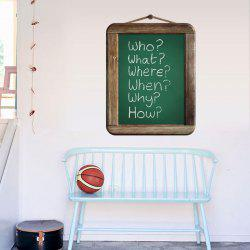 Removable Chalkboard Kids Room Wall Sticker