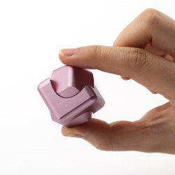 Stress Relief Alloy Cube Hand Spinner - ROSE GOLD