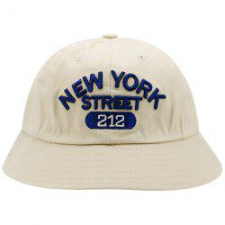Number Letters Embroidered Bucket Hat -