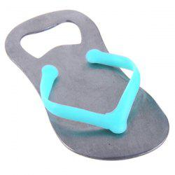Creative Durable 1 Pcs Flip Flop Iron Bottle Opener - Silver