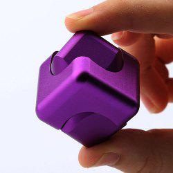 Stress Relief Toy Novelty Magic Cube Alloy Fidget Spinner