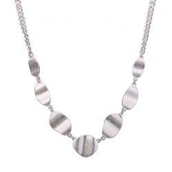 Alloy Metal Irregularity Geometric Necklace
