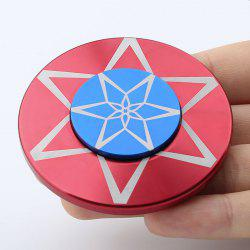 Round Metal Anti Stress Finger Gyro Spinner