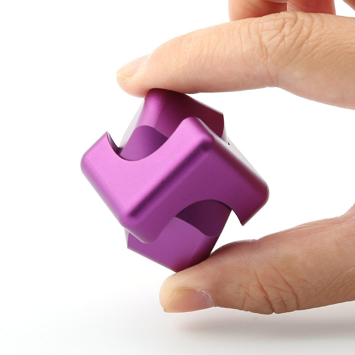 Unique Stress Relief Alloy Cube Hand Spinner