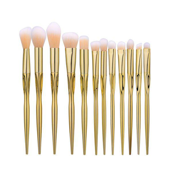 Face Eye Glitter Makeup Brushes SetBEAUTY<br><br>Color: LUXURY GOLD COLOR; Category: Makeup Brushes Set; Brush Hair Material: Nylon; Features: Limits Bacteria; Season: Fall,Spring,Summer,Winter; Weight: 0.1600kg; Package Contents: 7 x Brushes ( Pcs );