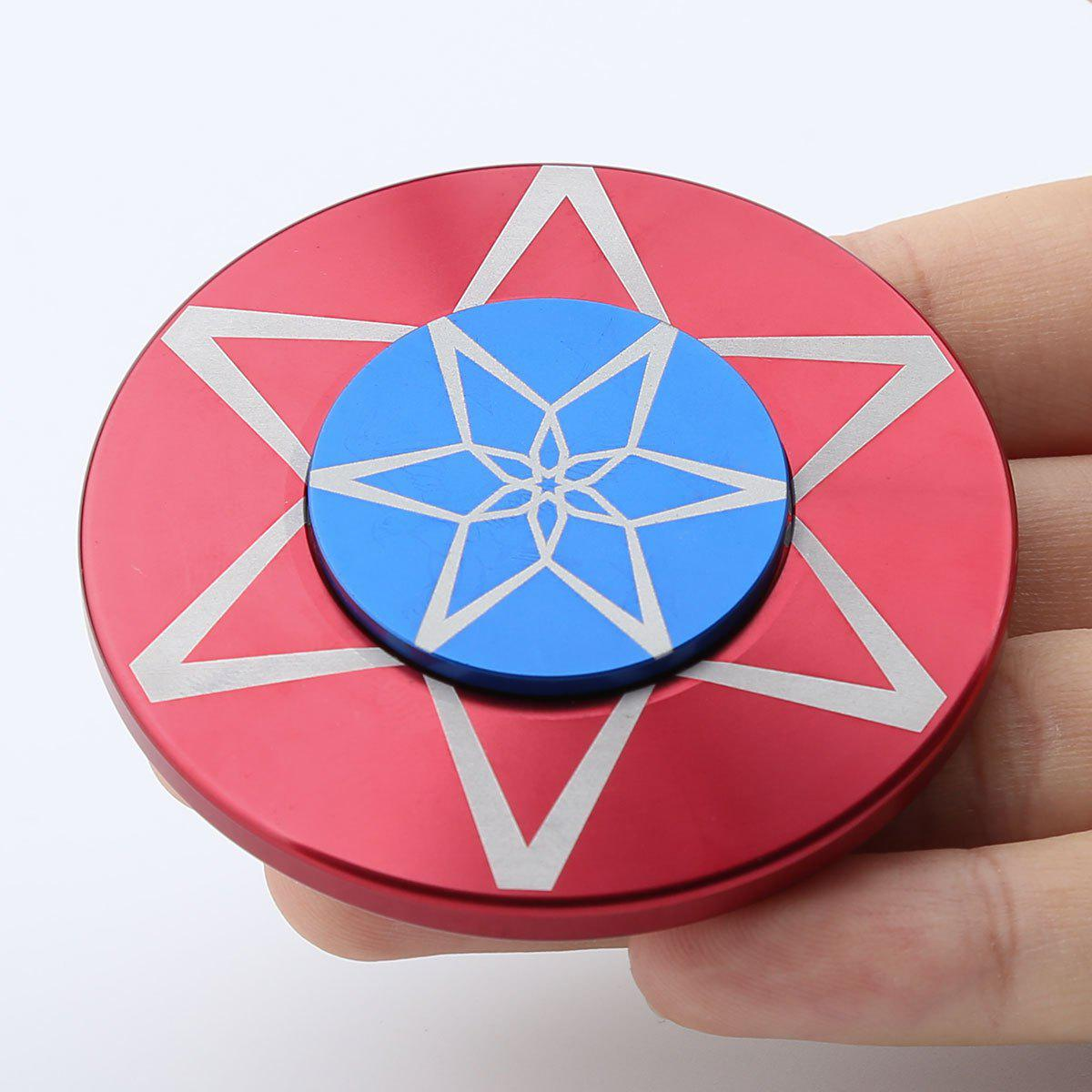 Hot Round Metal Anti Stress Finger Gyro Spinner