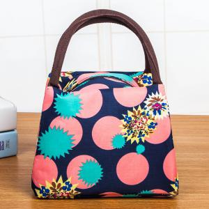 Printed Nylon Lunch bag
