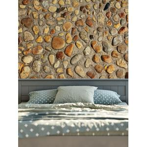 Vintage 3D Stone Wall Printed Tapestry