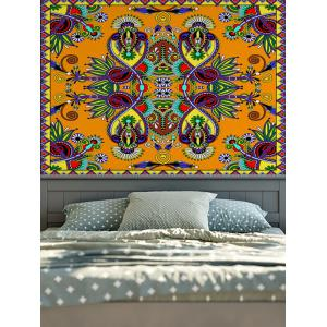 Wall Hangings American Country Boho Flower Print Tapestry - Colormix - W59 Inch * L79 Inch