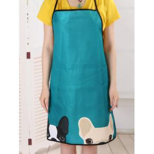 Pet Animal Household Water Resistant Apron - LAKE BLUE 80*70CM