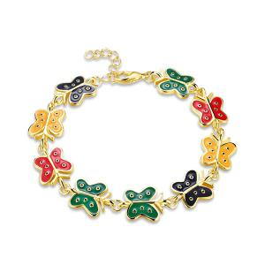 Butterfly Shaped Chain Bracelet