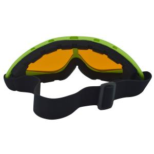UV Protection Anti Fog Dustproof Riding Goggles - GREEN