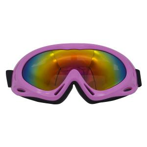 UV Protection Anti Fog Dustproof Riding Goggles - Pink