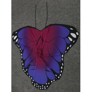 Sheer Butterfly Wing Beach Cover Up -