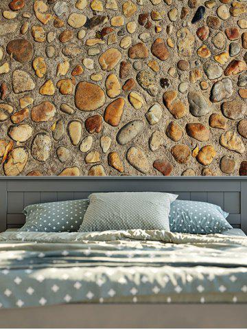 Hot Vintage 3D Stone Wall Printed Tapestry