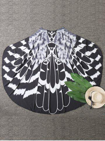 Mandala Feather Beach Cover Up - Colormix - One Size