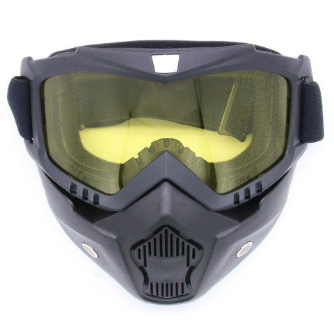 Online Off Road Detachable Breathable Motorcycle Goggles