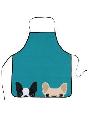 Cheap Pet Animal Household Water Resistant Apron LAKE BLUE 80*70CM