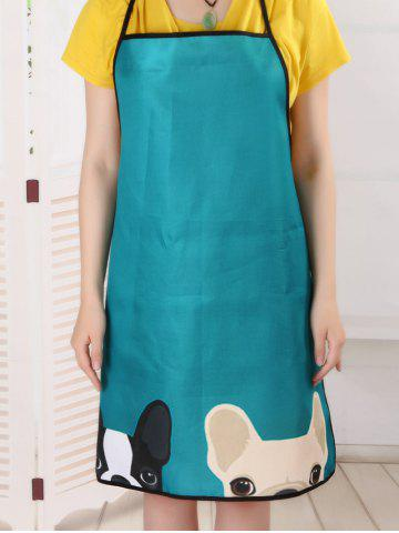 Sale Pet Animal Household Water Resistant Apron - 80*70CM LAKE BLUE Mobile