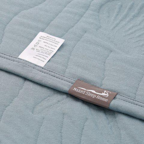 Unique 100 Percent Long Stapled Cotton Bed Blanket - FULL BLUE Mobile