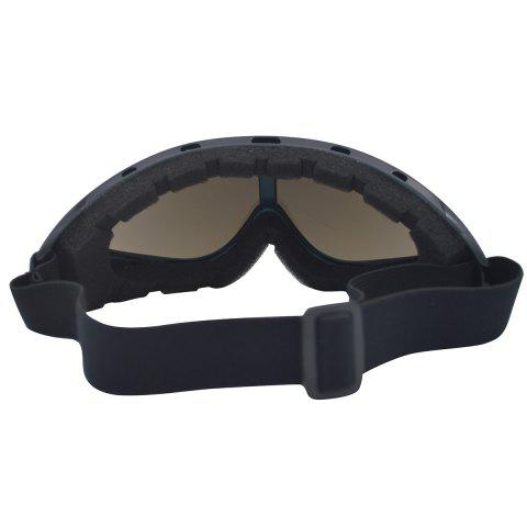 Store UV Protection Anti Fog Dustproof Riding Goggles - BLUE AND BLACK  Mobile