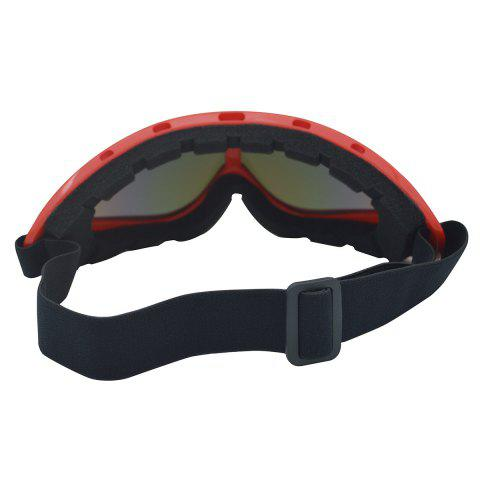 Buy UV Protection Anti Fog Dustproof Riding Goggles - RED  Mobile