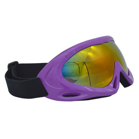 Buy UV Protection Anti Fog Dustproof Riding Goggles - PURPLE  Mobile