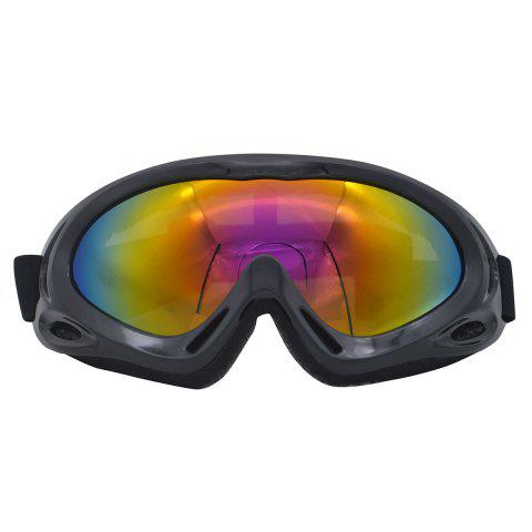 Store UV Protection Anti Fog Dustproof Riding Goggles BLACK