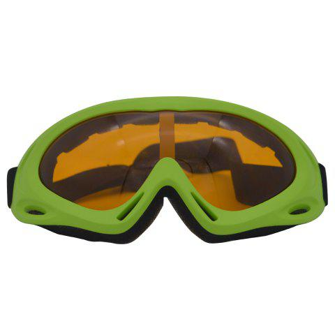 Buy UV Protection Anti Fog Dustproof Riding Goggles GREEN
